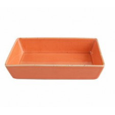 """Sidina Orange""Салатник прямоугольный 160 мм"