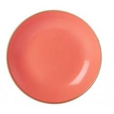 """Sidina Orange""Тарелка глубокая 210 мм, h-40 мм"