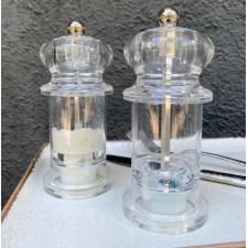 Мельница  для соли 13,5 см ACRYL Vega (керам.мех)