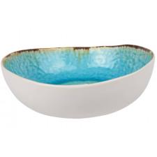 Салатник, 19х17.5 см, H-6см Laguna azzurro COSY TRENDY