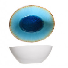 Салатник, 21х20 см, H-6,5см Laguna azzurro COSY TRENDY