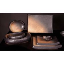 Тарелка прямоугольная, 23 x 17 x H 2,5 см, SHOSHU, COSY TRENDY
