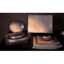 Тарелка прямоугольная, 28 x 21 x H 3 см, SHOSHU, COSY TRENDY