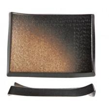 Тарелка прямоугольная, 34 x 25 x H 4 см, SHOSHU, COSY TRENDY