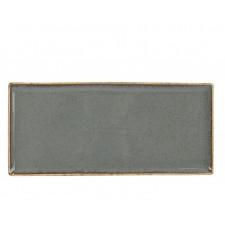 """SIDINA  Dark Gray"" Блюдо прямоугольное 350х160 мм"