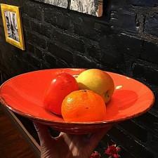 """Sidina Orange""Салатник 260 мм"