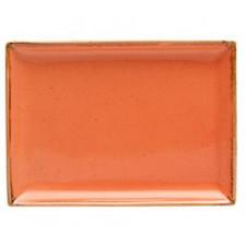 """Sidina Orange"" Тарелка прямоугольная 270х210 мм"