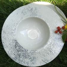 "Тарелка для пасты 310 мм ""Smoky Alumilite"" Porland"