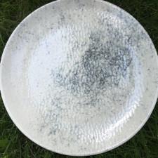 "Тарелка/блюдо круглое  310 мм ""Smoky Alumilite"" Porland"