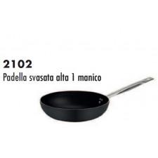 Сковорода  с антипригарным покрытием высокая 24 см,h-7,  серия 2102 Ballarini Италия