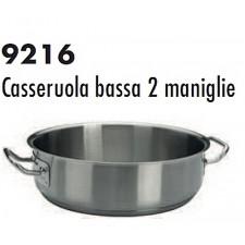 Кастрюля из нерж.стали/индукция низкая 28*9 см,  серия 9216 Ballarini Италия