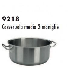 Кастрюля из нерж.стали, индукция,20*9 см, серия 9218 Ballarini Италия
