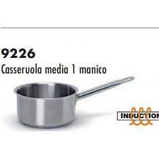 Сотейник из нерж.стали/индукция  средний 16*7 см,  серия 9226 Ballarini Италия