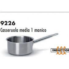 Сотейник из нерж.стали/индукция  средний 20*9см,  серия 9226 Ballarini Италия