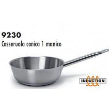 Сотейник из нерж.стали/индукция  конический 16*6см,  серия 9230 Ballarini Италия