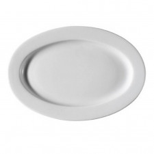 Блюдо овальное Pera 35*27,5см h-4см Kutahua