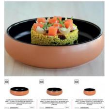Кастрюля порционная керамическая 14х4 см, 370 мл MESTIZO