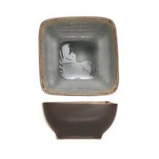 Салатник квадратный, 14 см, H- 6 см Laguna blue-grey COSY TRENDY