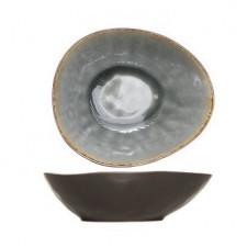 Салатник овальный, 20 x 16,5 x H- 6 см, Laguna blue-grey COSY TRENDY