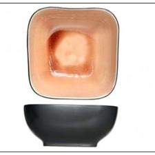 Салатник квадратный, 7,5 см,H- 3,8 см Laguna old rose COSY TRENDY