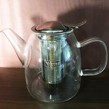 Чайник Thermo метал. фильтр. 950мл Wilmax