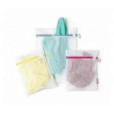 Набор мешков сетчатых для стирки белья, 3 шт(1-45 см* 33 см ,2-33 см*25 см)