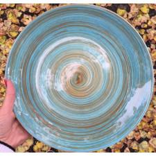 Тарелка мелкая 27 см, TURBOLINO BLUE, COSY TRENDY