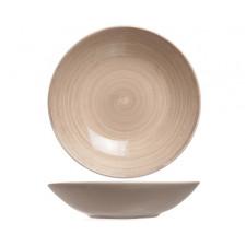 Тарілка глибока 21 см, TURBOLINO BROWN, COSY TRENDY