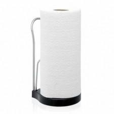 """Держатель для бумажных полотенец  с мелаллическим зажимом и ограничителем """"Roll-stop"""", высота держат"""