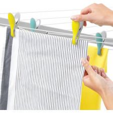 Набор прищепок для белья, 8 пр.выполнены из качественного пластика