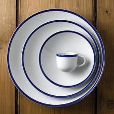 Тарелка  28,8 см Retro Blue Churchill (ПОД ЗАКАЗ) от 12 шт
