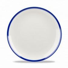 Тарелка  21,7 см Retro Blue Churchill (ПОД ЗАКАЗ) от 12 шт