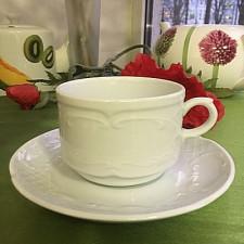 Чашка с блюдцем FLORA 120мл