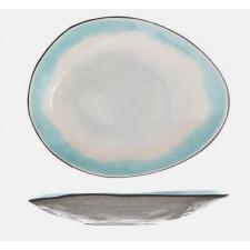 Тарелка овальная, 27.5х23 см, MALIBU COSY TRENDY