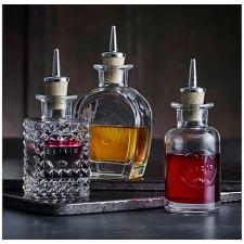 Бутылка для масла/уксуса  Elixir N.2 с дозатором (пробка ,нерж.сталь),v-10 cl h-14,2 d-5,2 Luigi Bor