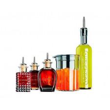 Набор для масла/уксуса Mixology 5пр.(Бутылка Elixir N.1,2,3, стакан для смешивания, бутылка с дозато