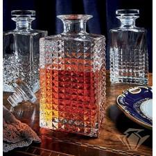 Штоф/графин Elixir,0,75л,h-20,7cv/стеклянная притертая крышка , подарочная упаковка Luigi Bormioli