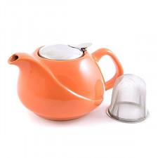 Чайник заварочный с ситечком, Оранж, 750 мл Fissman