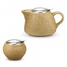 Чайник заварочный с ситечком, Песочный, 1000 мл Fissman