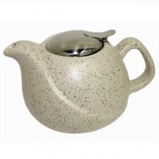 Чайник заварочный с ситечком, Белый Песок, 750 мл Fissman