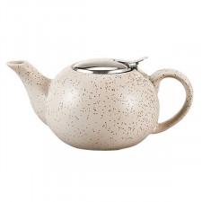 Чайник заварочный с ситечком, Белый Песок, 800 мл Fissman