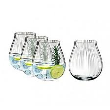 Набор стаканов 5515/67 для джина GIN SET OPTICAL, 4 шт