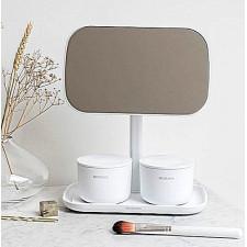 Зеркало прямоугольное на подставке , 28,3*20*12см, поворот на 360*, нескользящая подставка