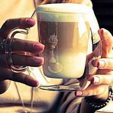 Чашка с двойным дном 300мл, 2шт LB Coffee Mug Supremo,ИТАЛИЯ