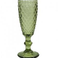 """Бокал-шампанское """"Изумруд 2"""" зеленый, 150 мл Китай"""