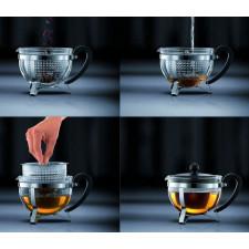 Чайник заварочный с ситечком, CHAMBORD 1 л Bodum