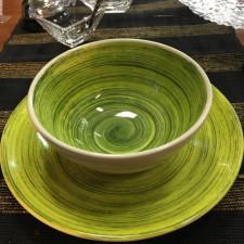 Салатник 14,5 см.  TURBOLINO GREEN, COSY TRENDY
