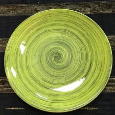 Тарілка мілка 27 см,TURBOLINO GREEN, COSY TRENDY