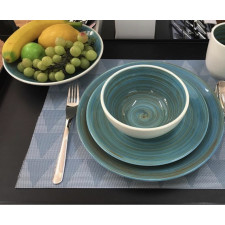 Тарілка мілка 22 см, TURBOLINO BLUE, COSY TRENDY